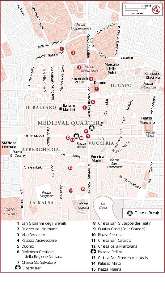 Туристический маршрут: Старый Палермо