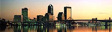 Jacksonville, FLA from the water