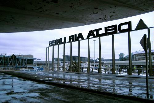Terminal 3 at JFK International Airport in New York.