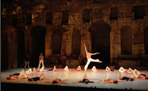 Dancers at Herodes Theater, Athens