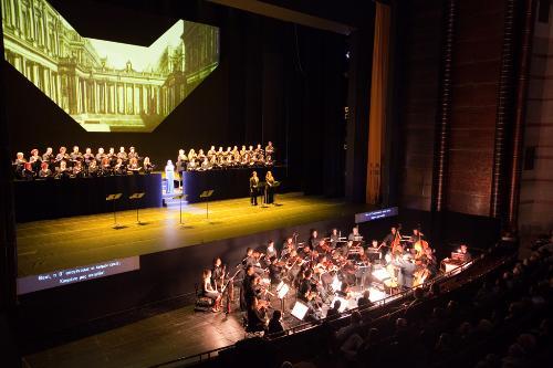 Performance at the Megaron Mousikis, Athens, Greece