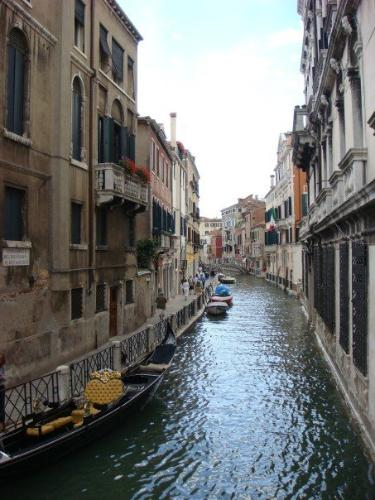 A beautiful canal in Venice