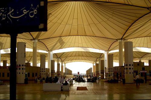 Jeddah Hajj Terminal in Jeddah, Saudi Arabia.