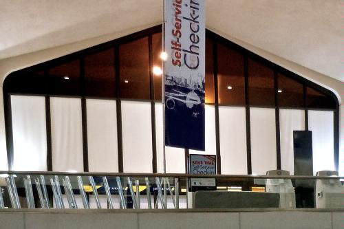 Terminal B at Newark Liberty International Airport.
