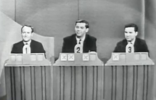 Arthur Frommer and two others on To Tell the Truth, 1963