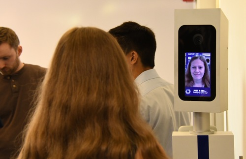 JetBlue's facial recognition technology for boarding airplanes