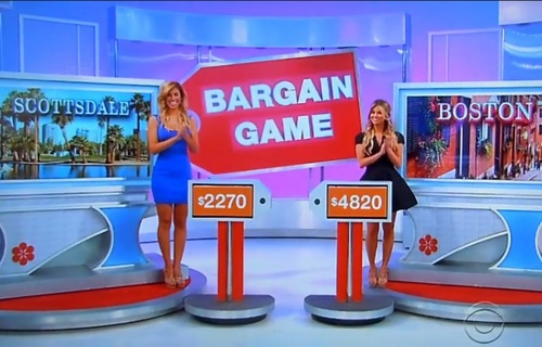 The Price is Right, Bargain Game, vacation prices