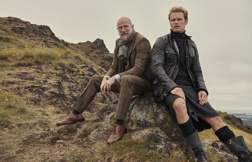Graham McTavish and Sam Heughan, Men in Kilts, Starz