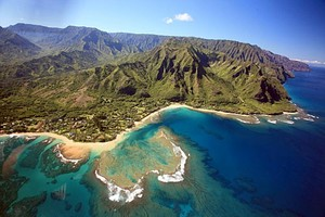 It'll cost big bucks, but a Blue Hawaii helicopter tour will buy eye-popping views of Kauai's spectacular North Shore.