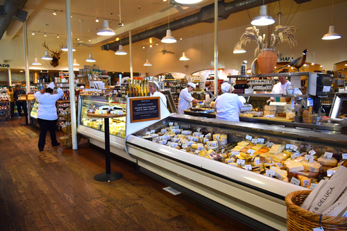 California's only D&D outpost (607 St. Helena Hwy.) stocks fresh local produce, cheeses, and a fantastic array of international food products and gifts, plus 1,400 California wines. There's an espresso bar too, in case you need a pick-me-up.