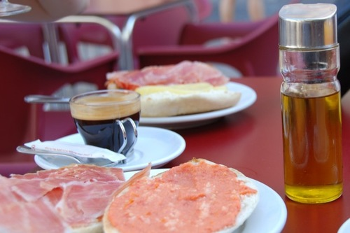 Use oil, not butter, for bread in Spain