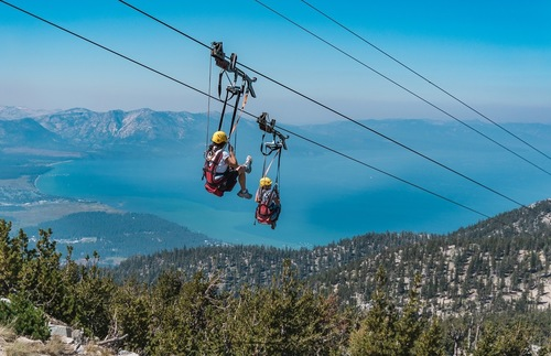 Best Lakefront Hotel Trips for Families in the USA and Canada: Heavenly Mountain Resort and Lake Tahoe, California/Nevada