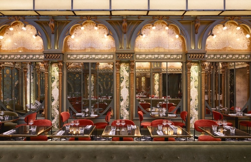 The Best Belle Epoque/ Art Nouveau Cafes in Paris: Beefbar Paris