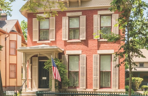 National Susan B. Anthony Museum and House in Rochester, New York