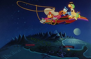 Go around the world with Disney animated movies: The Three Caballeros (South America)