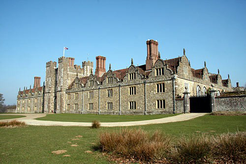 Knole boasts a courtyard for every day of the week.