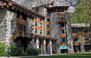 The Ahwahnee/Majestic Yosemite Hotel in Yosemite National Park.