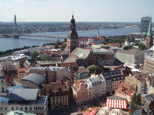 Get to know Riga and its striking architecture on Djoser USA's Baltics Bike Tour.