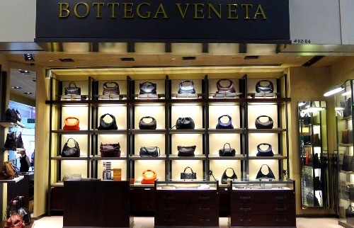 Bottega Veneta shop, Changi Airport.