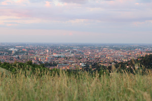 View of Bologna from the Trecento Scalini