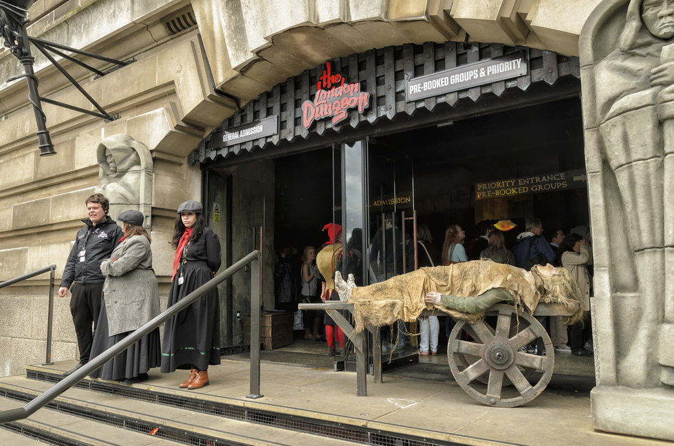 The London Dungeon, South Bank
