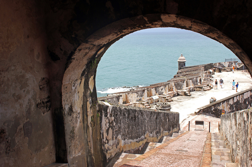 El Morro stands tall on the north coast of Puerto Rico