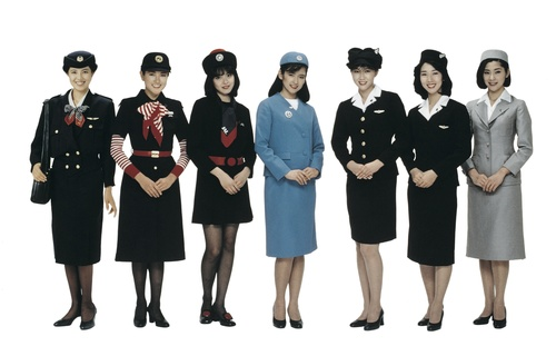 Japan Airlines' retro line-up