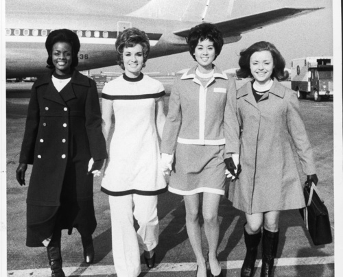 American Airlines stewardesses
