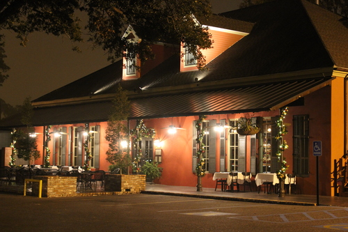 Jolie's Louisiana Bistro has the look of a fairy tale cottage from the front