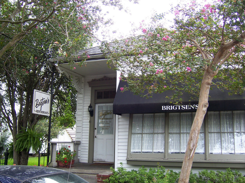 An exterior photo of Brigtsen's Restaurant