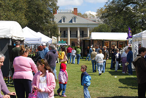 Oak Alley Plantation Arts and Crafts Festival, Vacherie, Louisiana