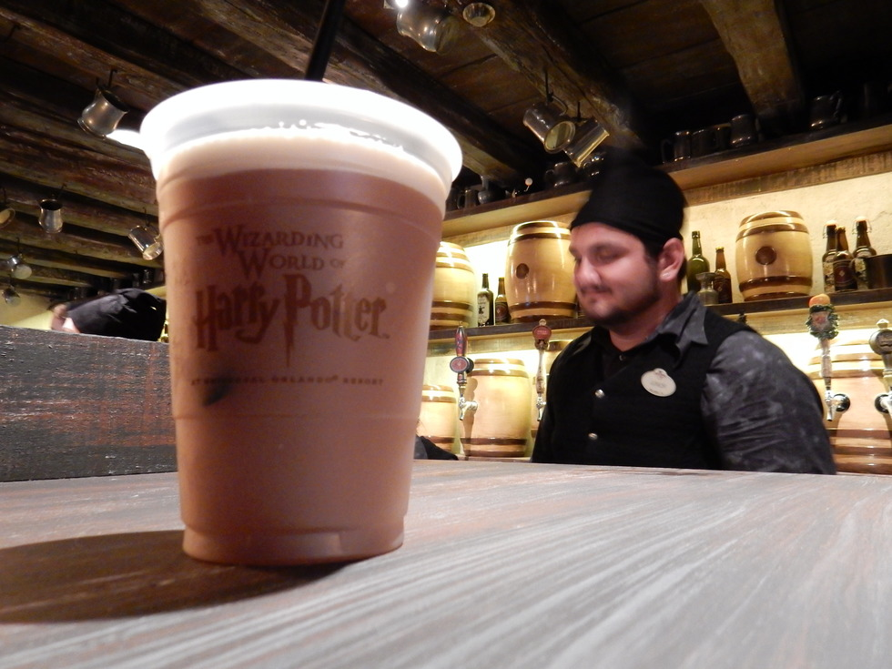 Cup of Butterbeer at The Wizarding World of Harry Potter