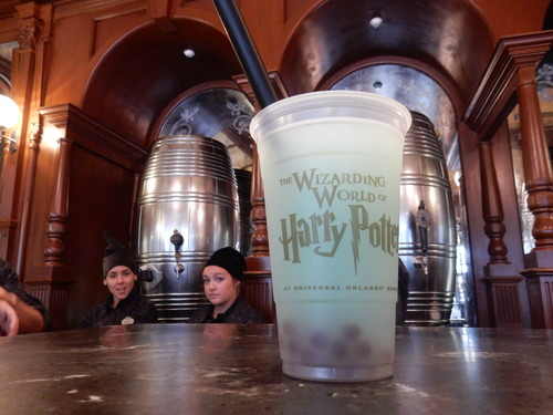 Wizarding World of Harry Potter, Diagon Alley, The Fountain of Fair Fortune, Fishy Green Ale