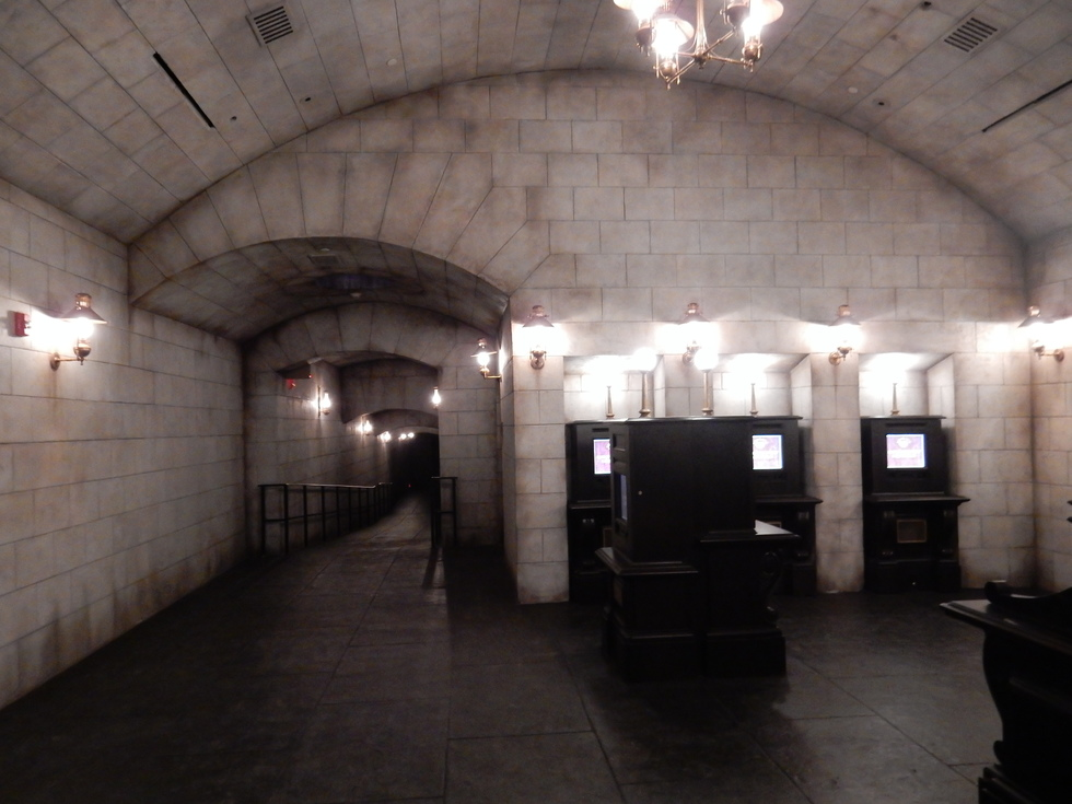 wizarding World of Harry Potter, Diagon Alley, Harry Potter and the Escape from Gringotts exit