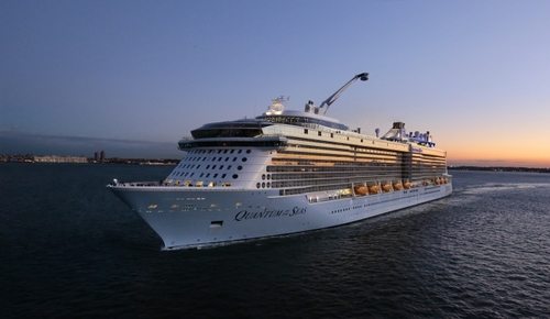 Royal caribbean s megaship quantum of the seas was so named because