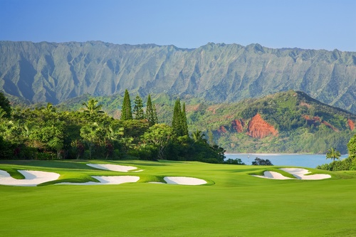 The Makai Golf Course at the St. Regis Princeville in Kauai