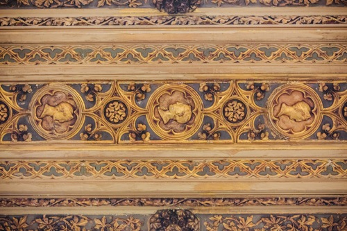 Carved ceiling, Woolworth Building
