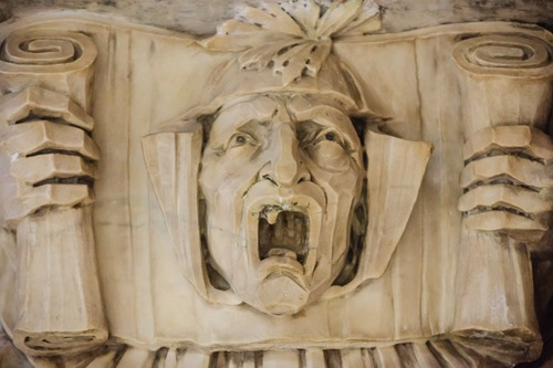 Scroll face, Woolworth Building