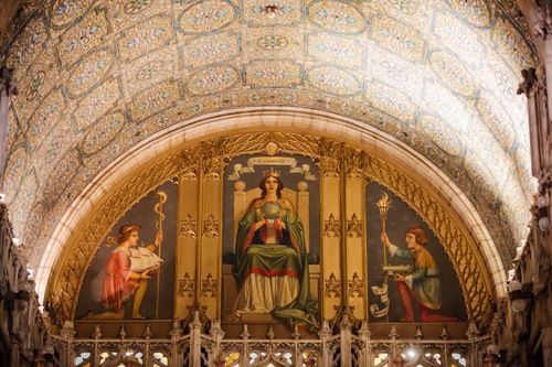 Commerce mural, Woolworth Building