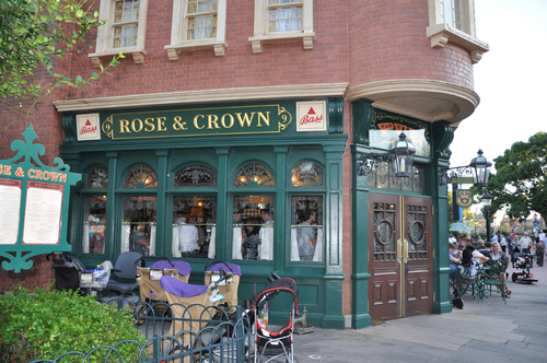 Rose crown pub dining room