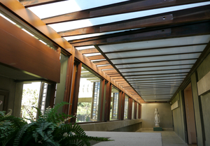 Breezeway, Hollyhock House, Los Angeles