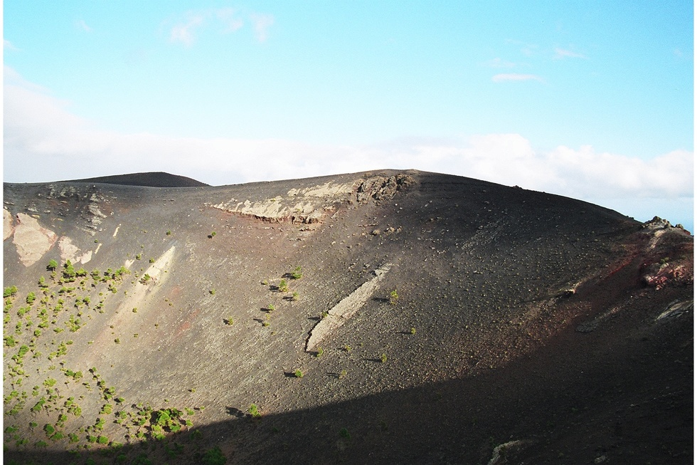 A photo of volcanic rock on the Canary Islands