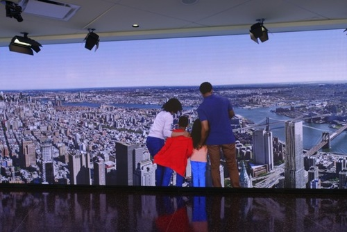 Touring One World Observatory In Downtown New York City