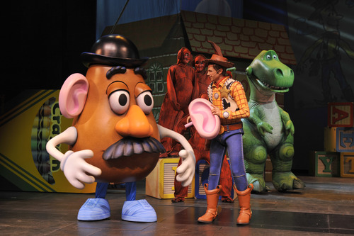 "A scene from ""Toy Story, The Musical"""