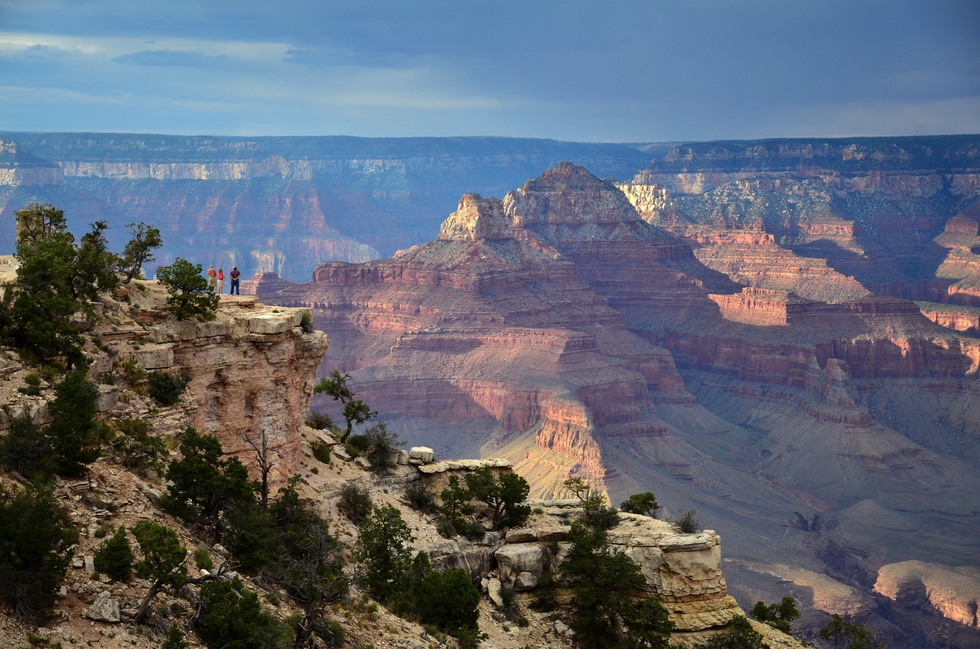 A view of the Grand Canyon in Arizona