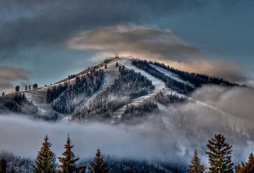 Bald Mountain in Sun Valley, Idaho