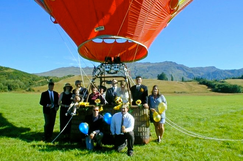 Hot Air Balloon Wedding in Albuquerque