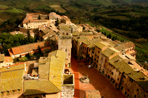 View of San Gimignano from Tower