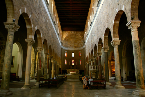 Main Interior of the Basilica of San Frediano