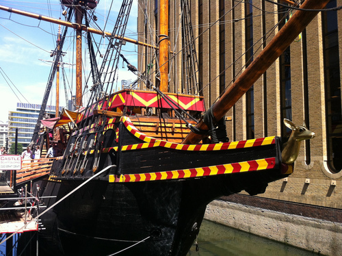 The Golden Hinde in London